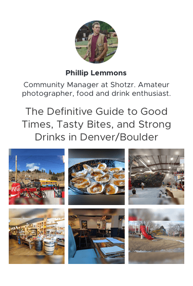 Philip's Definite Guide to Good Times, Tasty Bites and Strong Drinks in Denver Preview Link