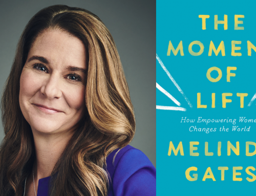 Melinda Gates Gives Us a Lift